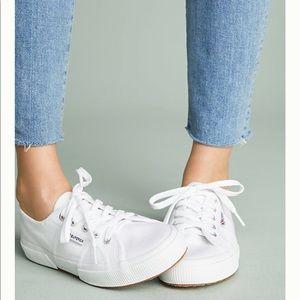 Superga White Core Classic Sneakers